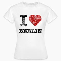 i_love_berlin_vintage_dark T-Shirts