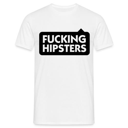F-ing Hipster (Male) - Men's T-Shirt