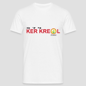T-shirt 974 Ker Kreol cible - Sans interdit - Réunion - T-shirt Homme