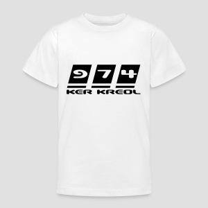 Tee shirt Ado 974 ker kreol - T-shirt Ado