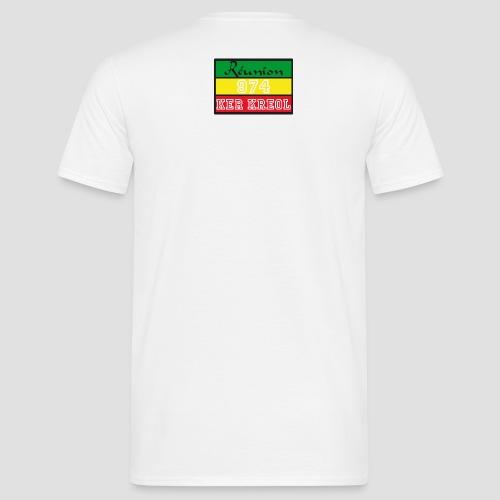 Tee shirt classique Homme  Ker Kreol Nation Rasta 2013 - T-shirt Homme