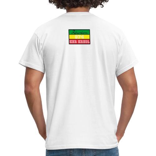 Tee shirt classique Homme  Ker Kreol Nation Rasta - T-shirt Homme