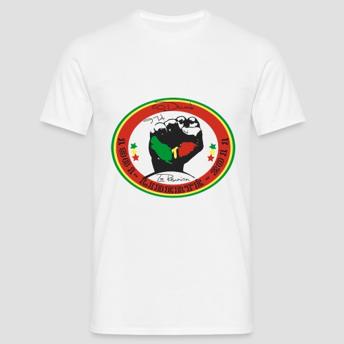 Tee shirt manches longues Homme 974 Ker Kreol Nation 20 désamb - T-shirt Homme