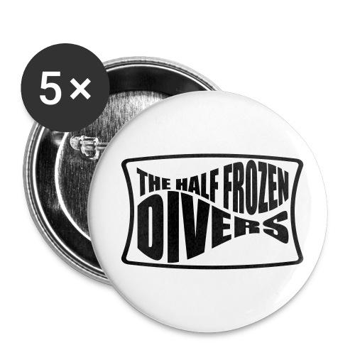 The Half Frozen Divers - Badge moyen 32 mm