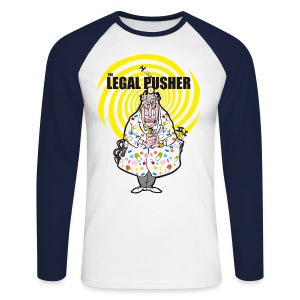 Men's Long Sleeve Baseball T-Shirt - baseball t-shirt