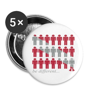 Be different...Badge - Badge moyen 32 mm