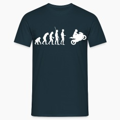 Evolution Motorcycle  T-Shirts