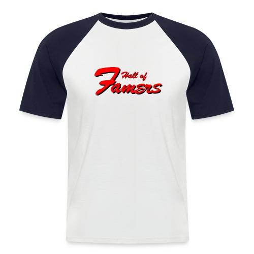 Famers Shirt mit Rückennummer - Männer Baseball-T-Shirt