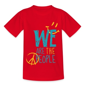 Peace Smiley bright - Teens - Teenager T-Shirt