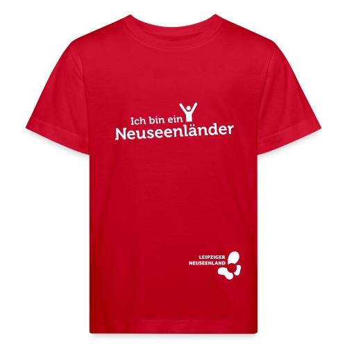 Kinder Bio-T-Shirt Neuseenländer - Kinder Bio-T-Shirt