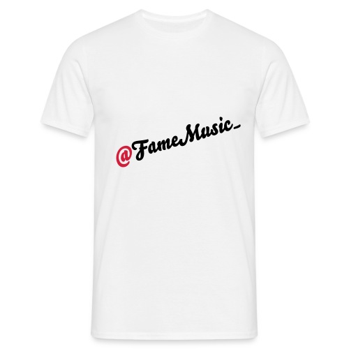 @famemusic_ shirt - Mannen T-shirt