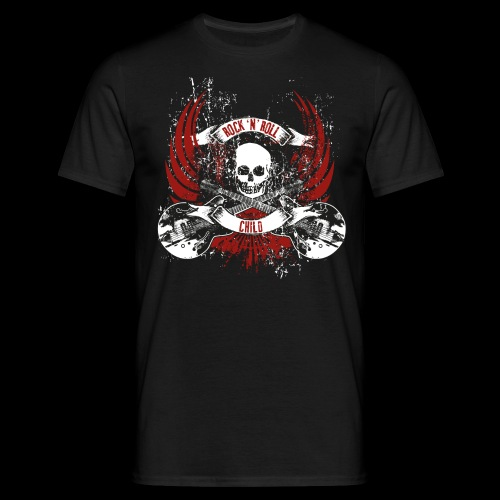 Rock-n-Roll child - Männer T-Shirt