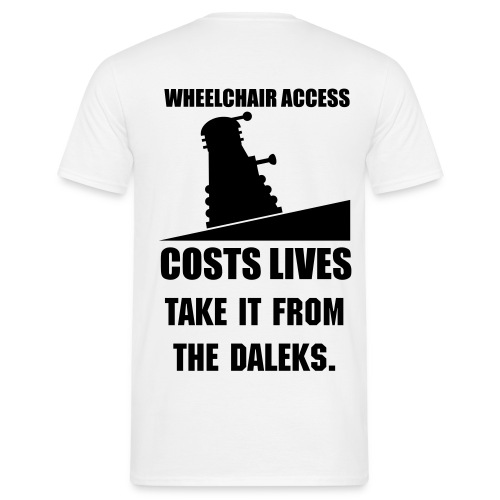 Dalek - Men's T-Shirt