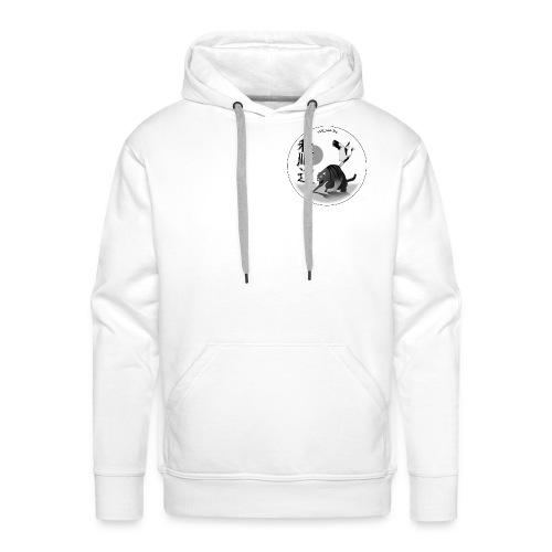 Martial Arts Sweatshirt Wa Jun Do - Sweat-shirt à capuche Premium pour hommes