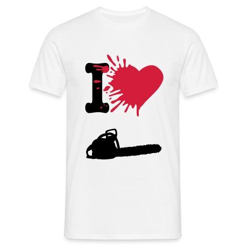 I Heart Chainsaw - Men's T-Shirt
