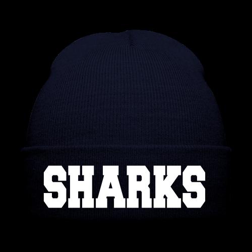 Mütze Sharks (navy/weiß) - Wintermütze