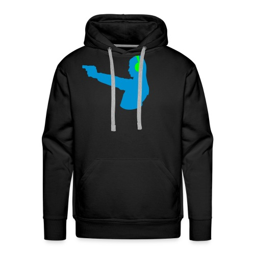 shoot the runner - Männer Premium Hoodie