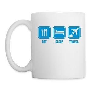Eat Sleep travel - Mug