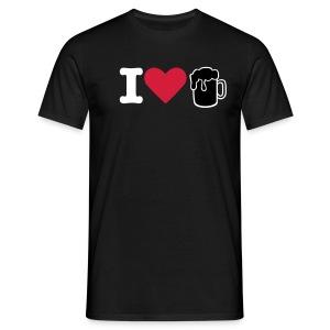 I Love Beer - Men's T-Shirt
