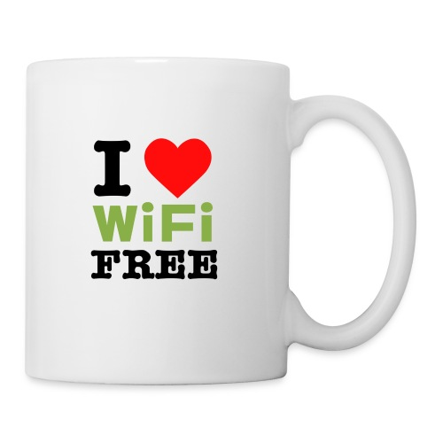 I Love Free Wifi Coffee Cup / Mug - Mug