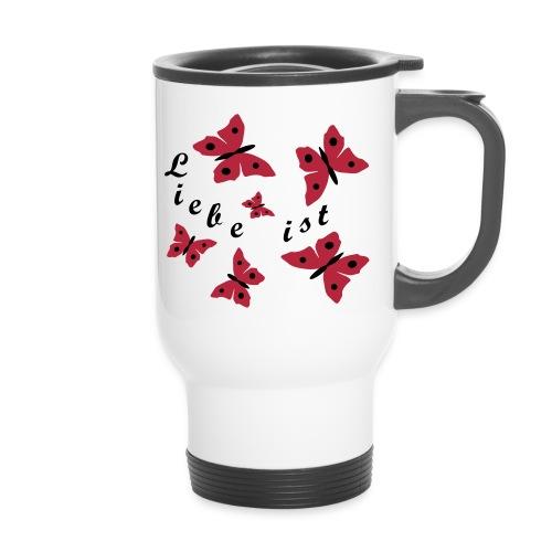 Schmetterlinge - Thermobecher