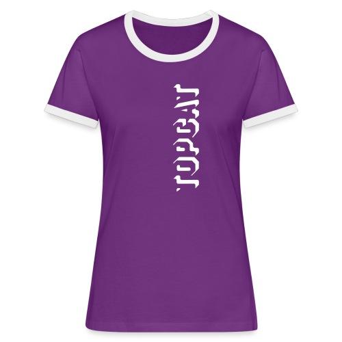 Frauen Kontrast T-Shirt - Euro 2012 - Frauen Kontrast-T-Shirt