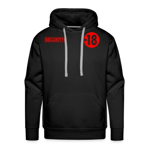 Security Vest  - Mannen Premium hoodie