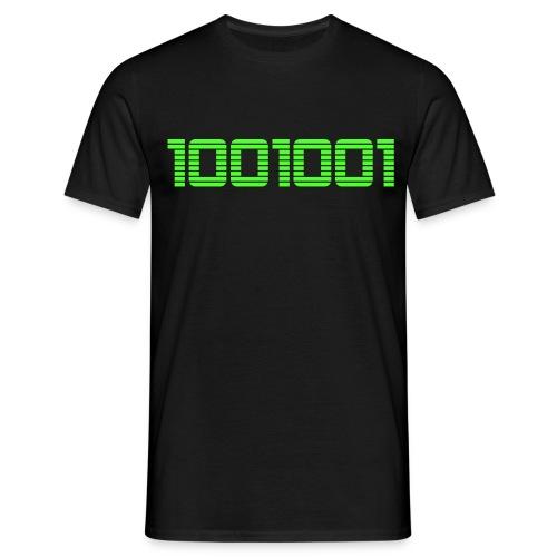 1001001 - Männer T-Shirt