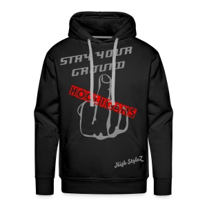 Kaputzenpullover Stay your Ground High StyleZ - Männer Premium Hoodie