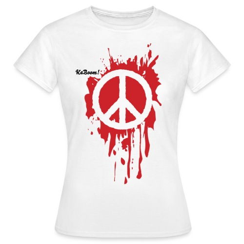Painting Peace (female) - Women's T-Shirt