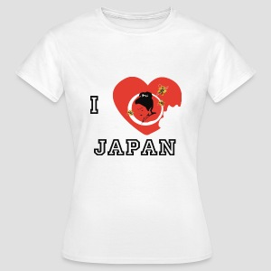 Tee shirt classique Femme I love Japan, I love Japon - T-shirt Femme