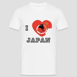 Tee shirt classique Homme I love Japan, I love Japon - T-shirt Homme
