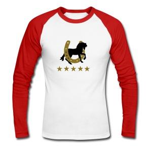 soumillon  - T-shirt baseball manches longues Homme