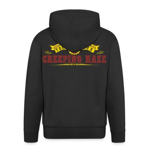 Band Zipper-Jacke - Männer Premium Kapuzenjacke