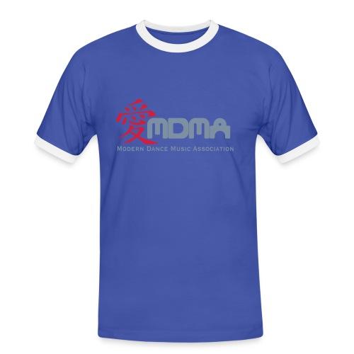 MDMA Power Reflex - Männer Kontrast-T-Shirt
