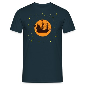 Space pirates - Mannen T-shirt