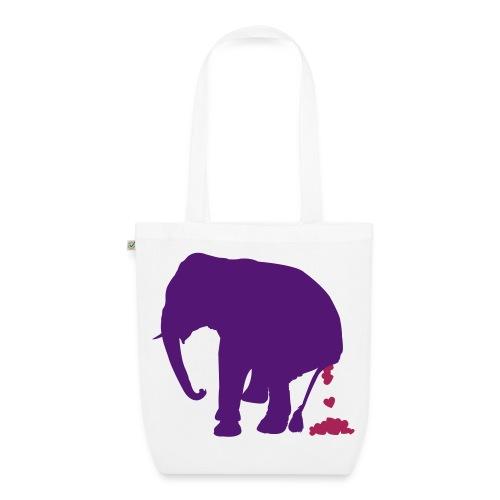 elephat shit - Borsa ecologica in tessuto