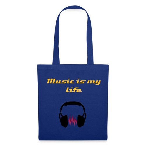 Music is my life bag - Tote Bag
