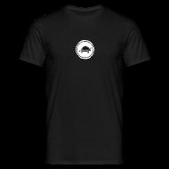 T-Shirts ~ Men's T-Shirt ~ Banoop Circular Logo - Mens T-Shirt - Black