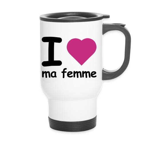 Mug thermos J'aime ma Femme - Mug thermos