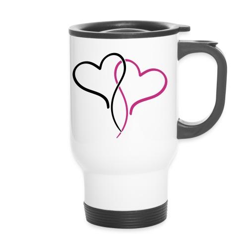 Mug thermos Double Coeur - Mug thermos