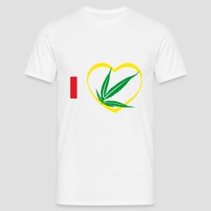 Tee shirt classique Homme i love Zam zam, 974  ker kreol - T-shirt Homme