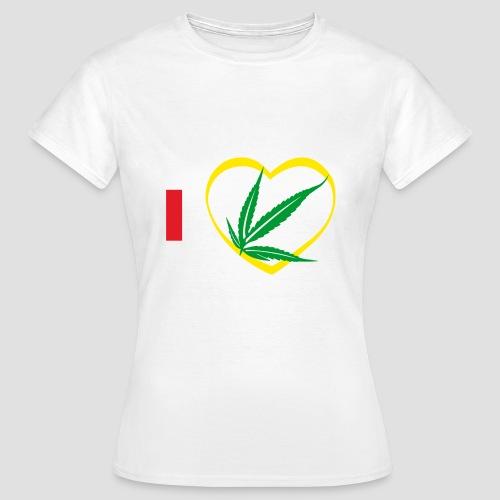 Tee shirt classique Femme i love Zam zam, 974  ker kreol - T-shirt Femme