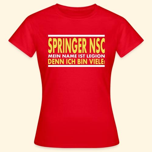 Frauen Girlieshirt - Springer NSC - Frauen T-Shirt