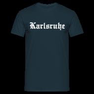 T-Shirts ~ Männer T-Shirt ~ Karlsruhe, Heimat Verein Leidenschaft