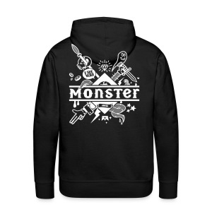 [Monster Inc] sweat - Men's Premium Hoodie