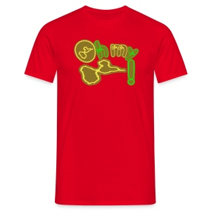 OMG  = OH MY GUADELOUPE - T-shirt Homme