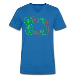 OMG  = OH MY GUADELOUPE - T-shirt Homme col V