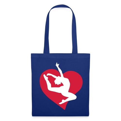 I Love Gymnastics Tote - Tote Bag