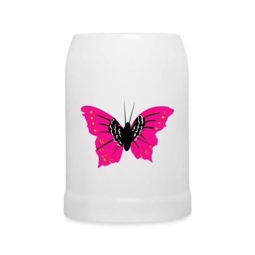 Chope papillon - Chope en céramique